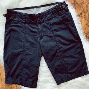 "NIKE Women's Bermuda 11"" inseam Black Golf Shorts"